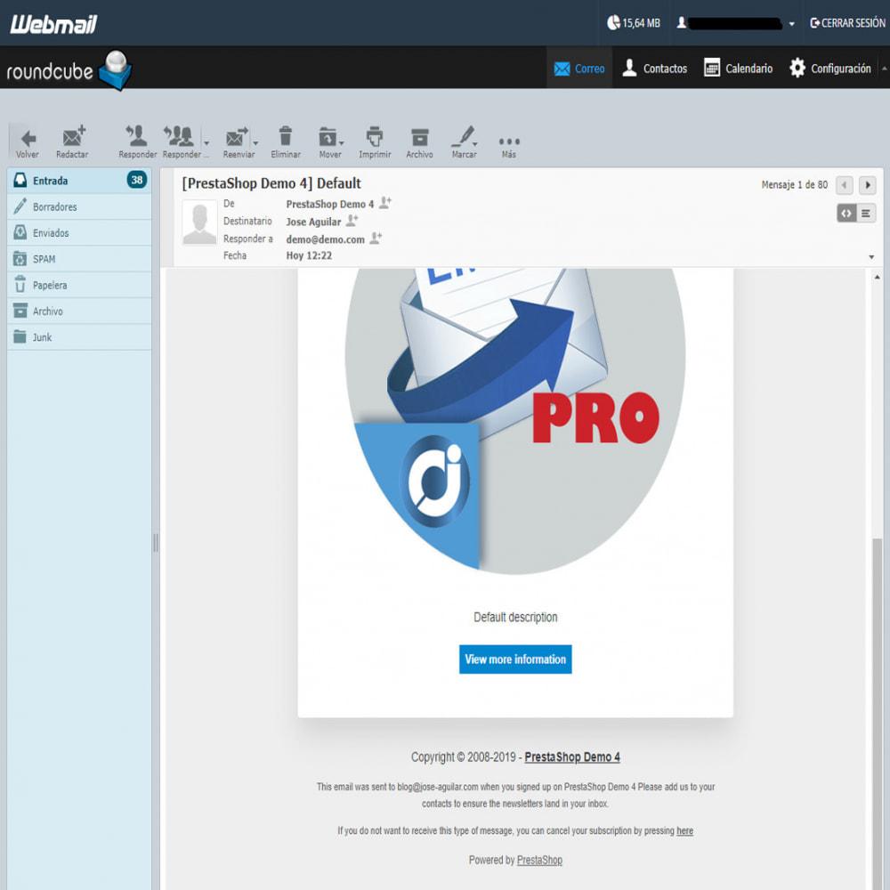 module - Newsletter & SMS - Mailing newsletter Pro - 13