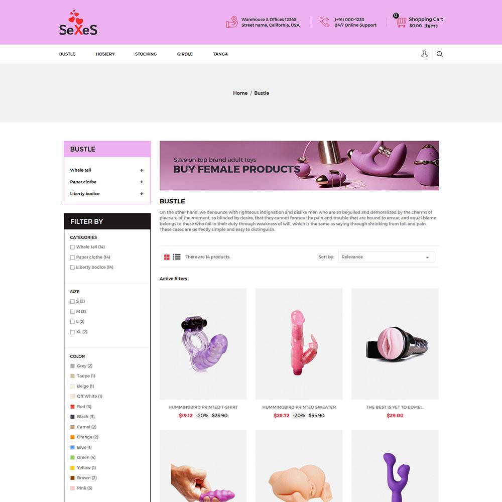 theme - Lingerie & Adulti - Sexes - Sex Toys Attrazione per adulti Costume da bagno - 3