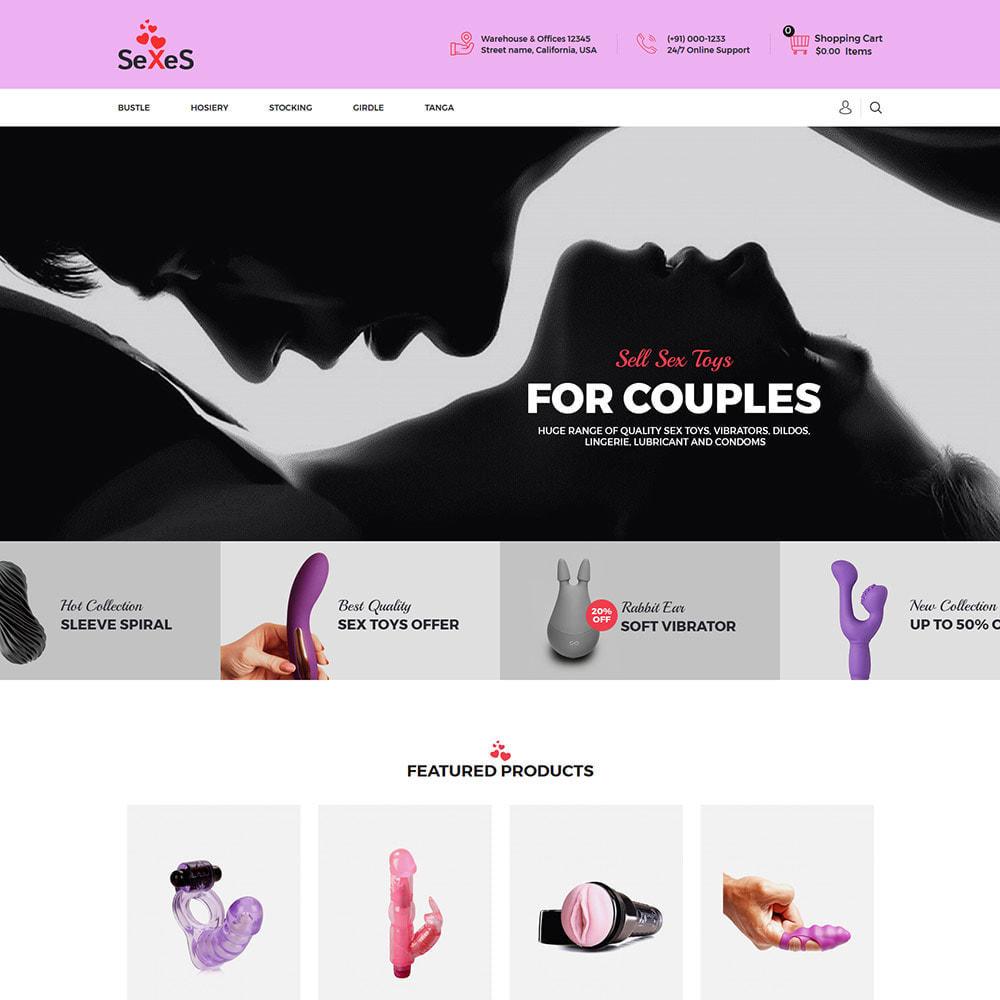 theme - Lingerie & Adulti - Sexes - Sex Toys Attrazione per adulti Costume da bagno - 4
