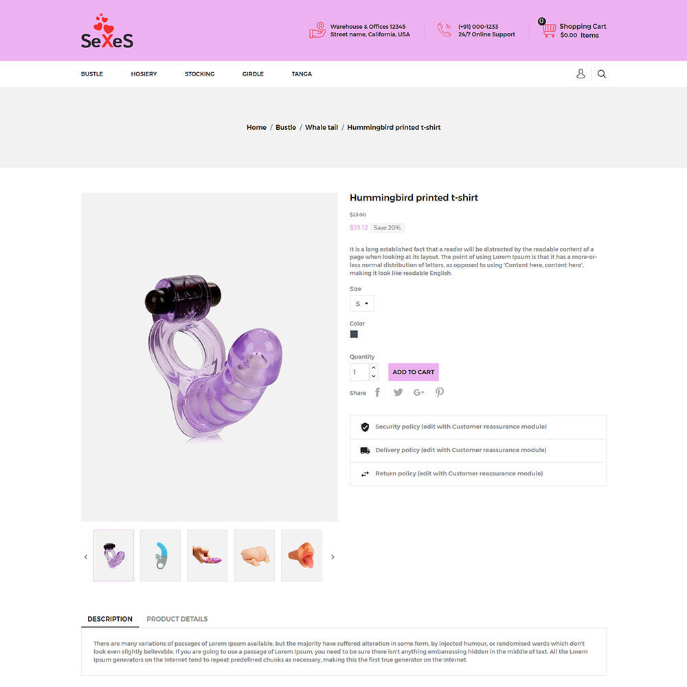 theme - Lingerie & Adulti - Sexes - Sex Toys Attrazione per adulti Costume da bagno - 6