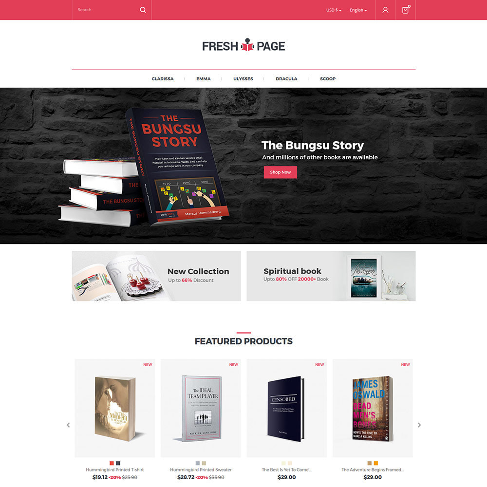 theme - Art & Culture - Fresh Page Book - Bibliothèque Ebook Store - 3
