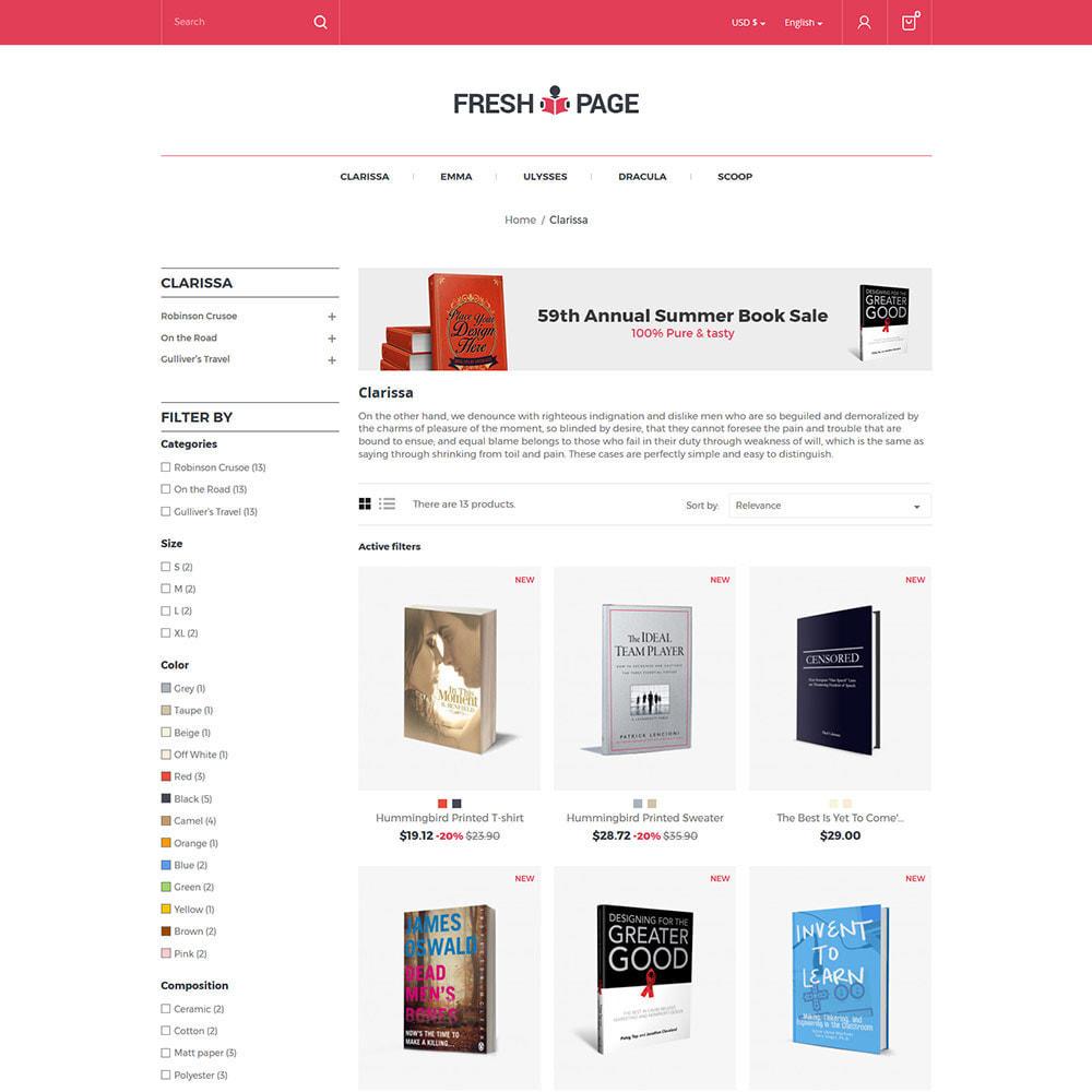 theme - Art & Culture - Fresh Page Book - Bibliothèque Ebook Store - 4