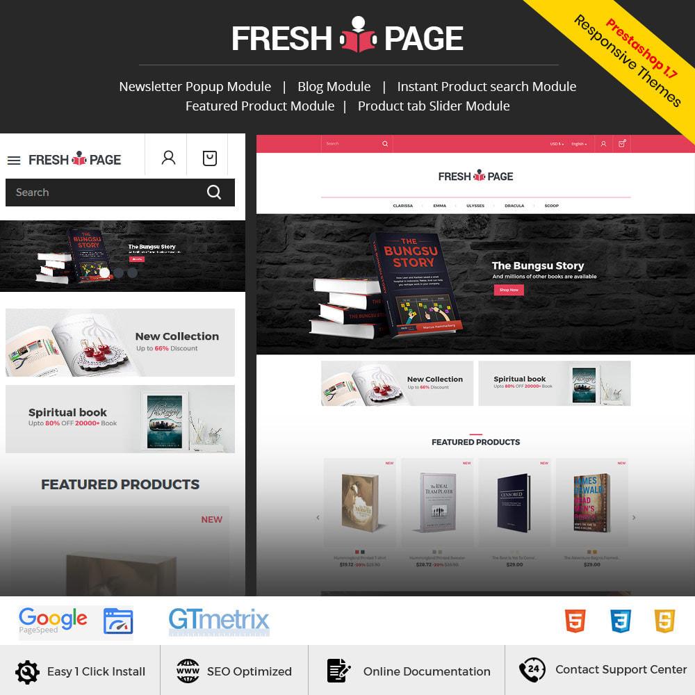 theme - Arte e Cultura - Fresh Page Book - Loja de bibliotecas de Ebook - 2
