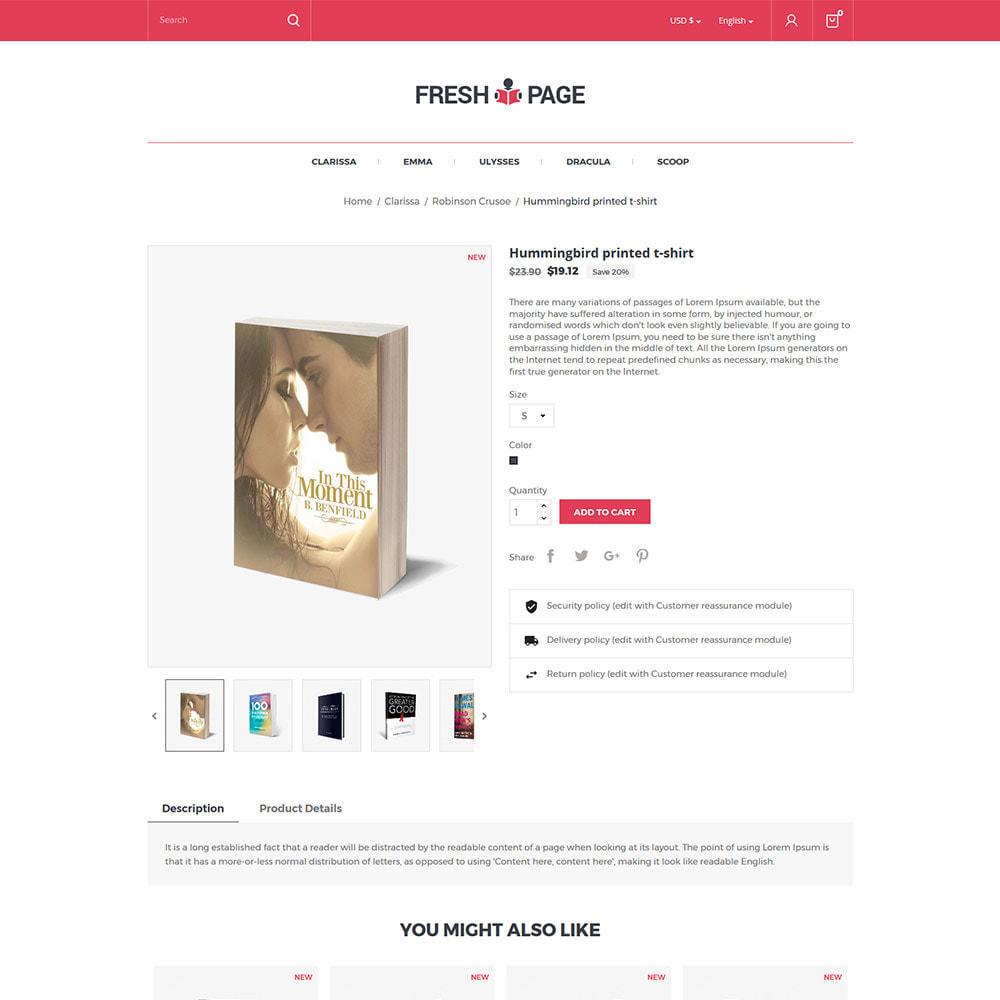 theme - Arte e Cultura - Fresh Page Book - Loja de bibliotecas de Ebook - 6