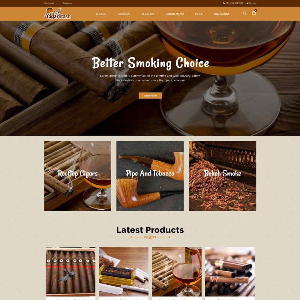 theme - Drink & Tobacco - CigarStash Store - 3