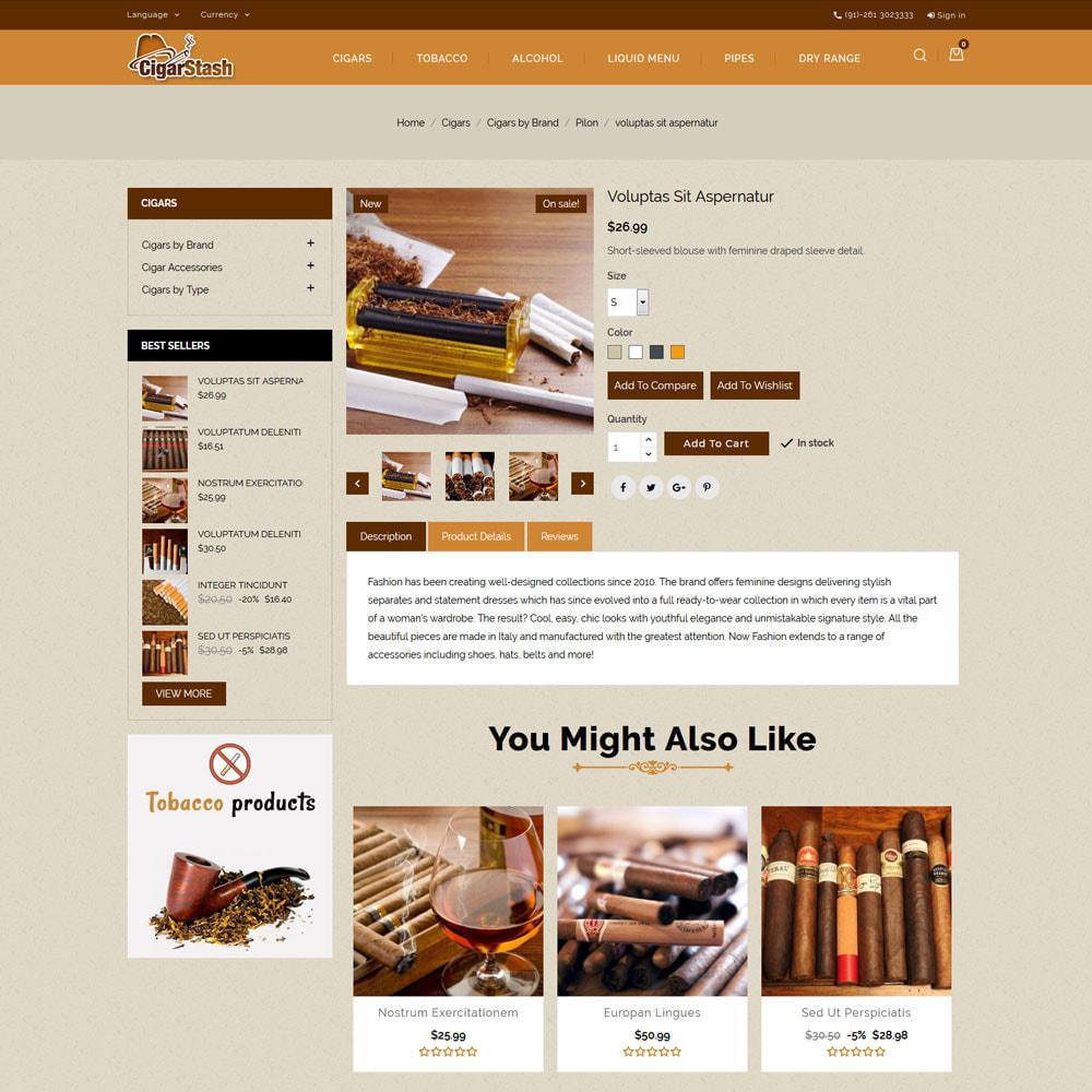 theme - Drink & Tobacco - CigarStash Store - 6