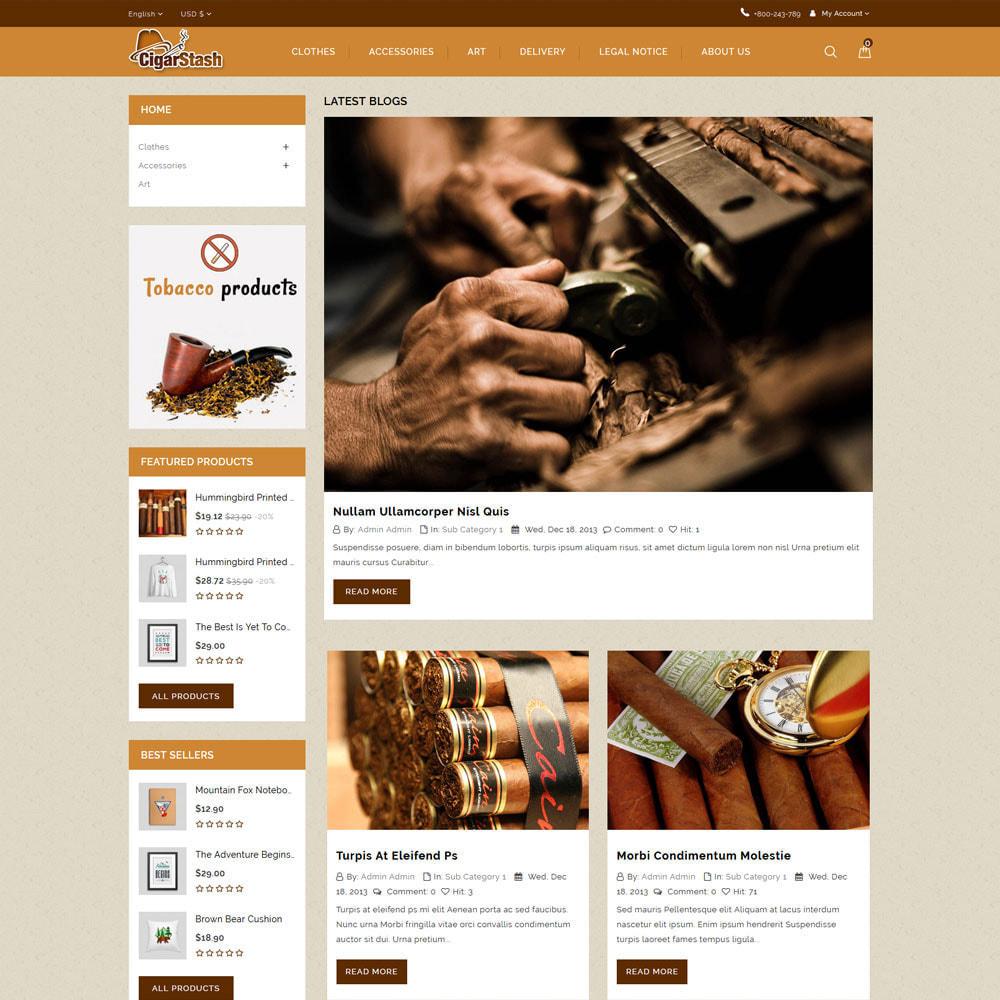 theme - Drink & Tobacco - CigarStash Store - 7