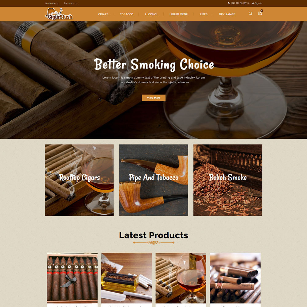 theme - Boissons & Tabac - CigarStash Store - 3