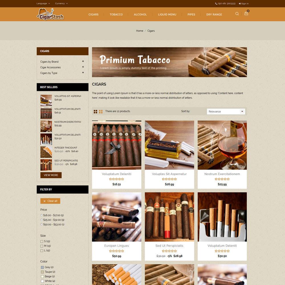 theme - Boissons & Tabac - CigarStash Store - 4