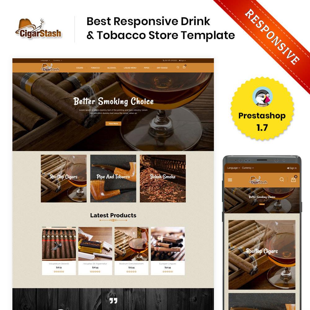 theme - Bebidas y Tabaco - Cigar Stash Store - 1