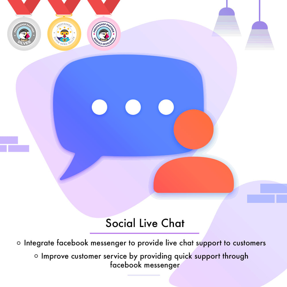module - Products on Facebook & Social Networks - Messenger | Social Live Chat - 1