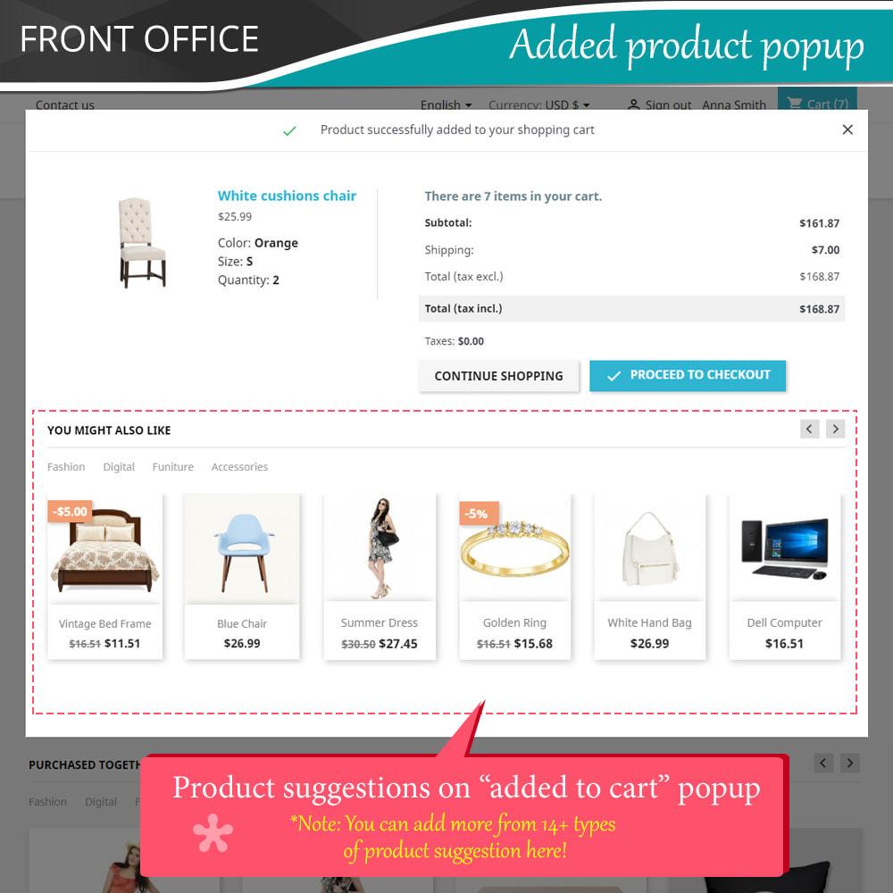 module - Kruisverkoop & Pakketaanbiedingen - Cross Selling Pro - Upsell - Shopping cart & all pages - 4