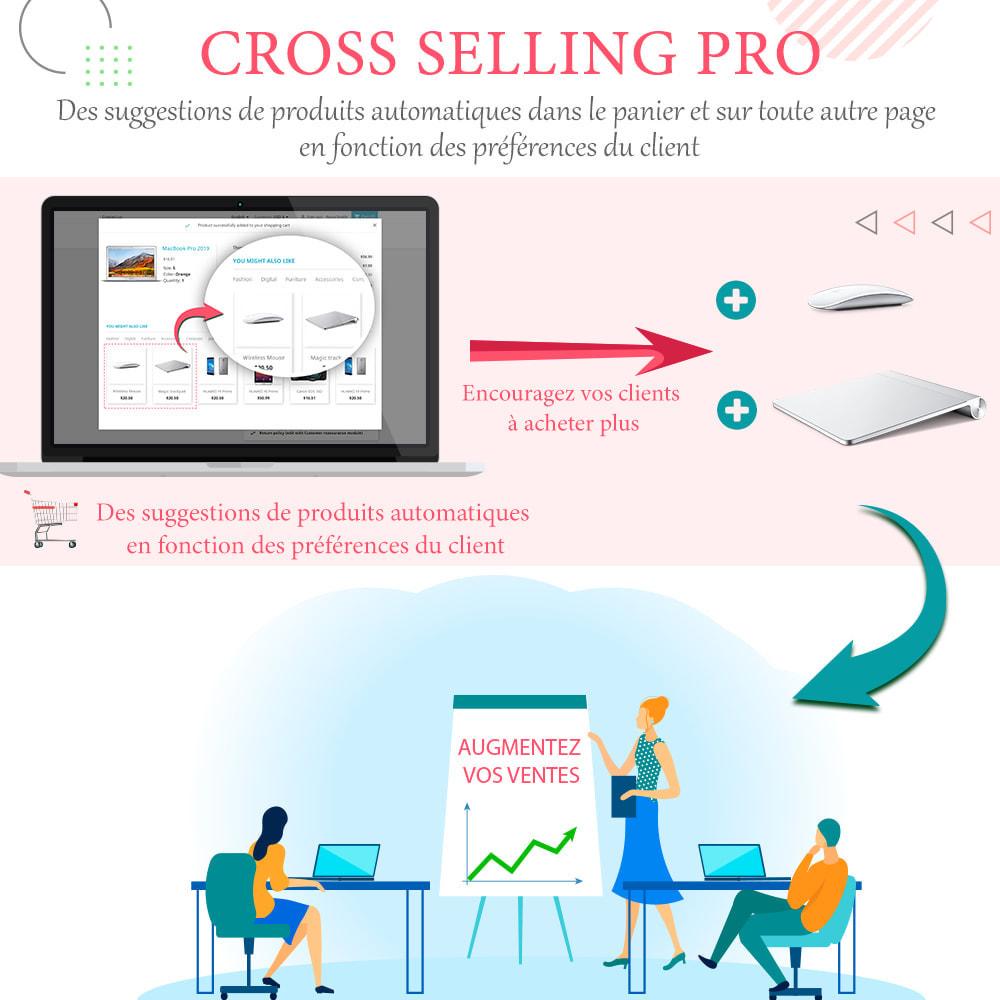 module - Ventes croisées & Packs de produits - Cross Selling Pro - Upsell - Panier et pages - 1