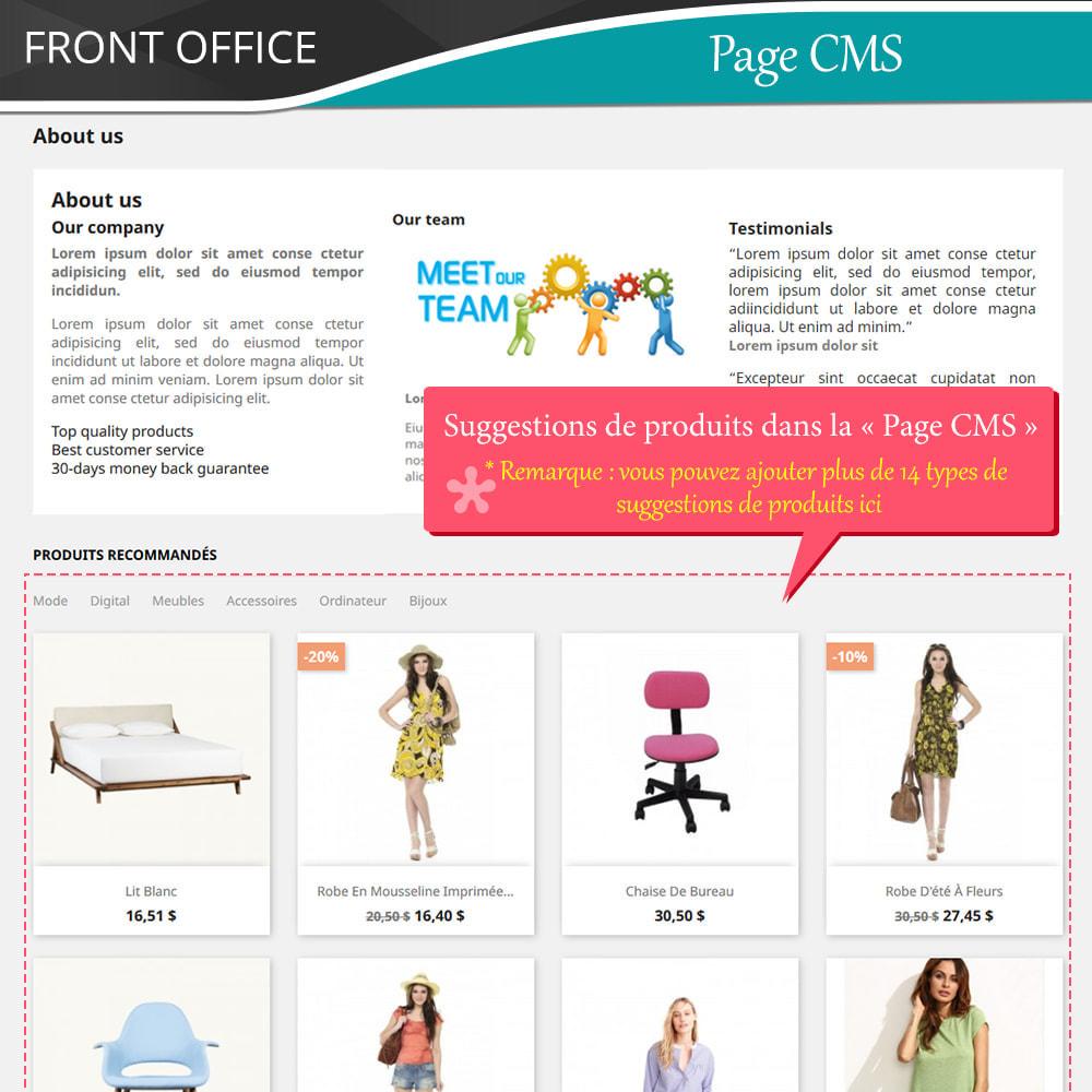module - Ventes croisées & Packs de produits - Cross Selling Pro - Upsell - Panier et pages - 10
