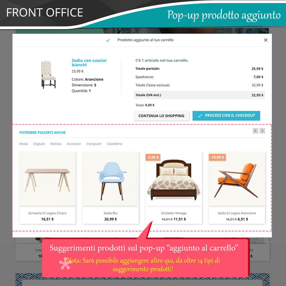 module - Cross-selling & Product Bundle - Cross Selling Pro - Upsell - Carrello & tutte le pagine - 4