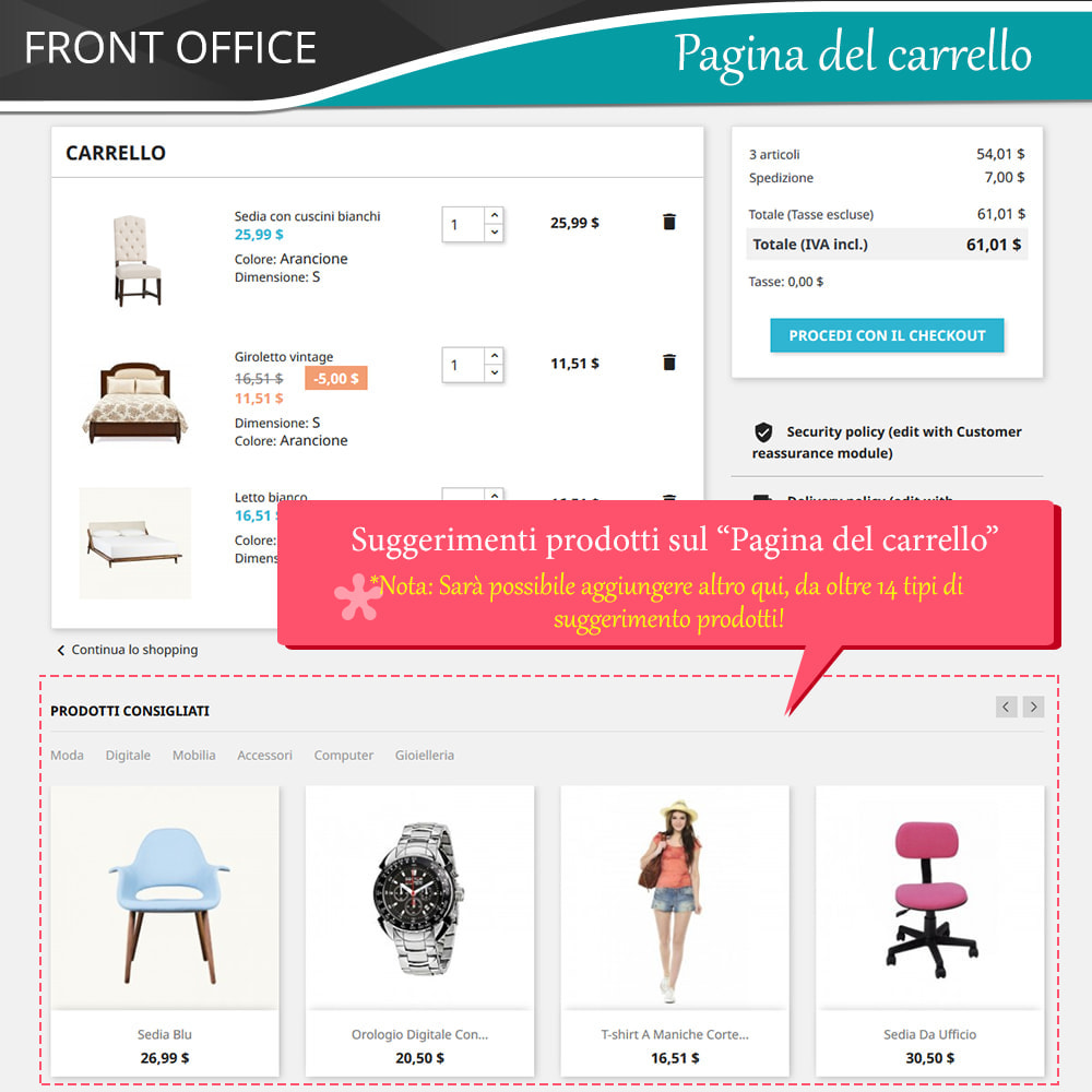 module - Cross-selling & Product Bundle - Cross Selling Pro - Upsell - Carrello & tutte le pagine - 5