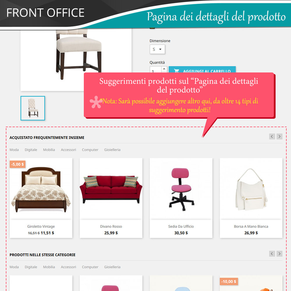 module - Cross-selling & Product Bundle - Cross Selling Pro - Upsell - Carrello & tutte le pagine - 6