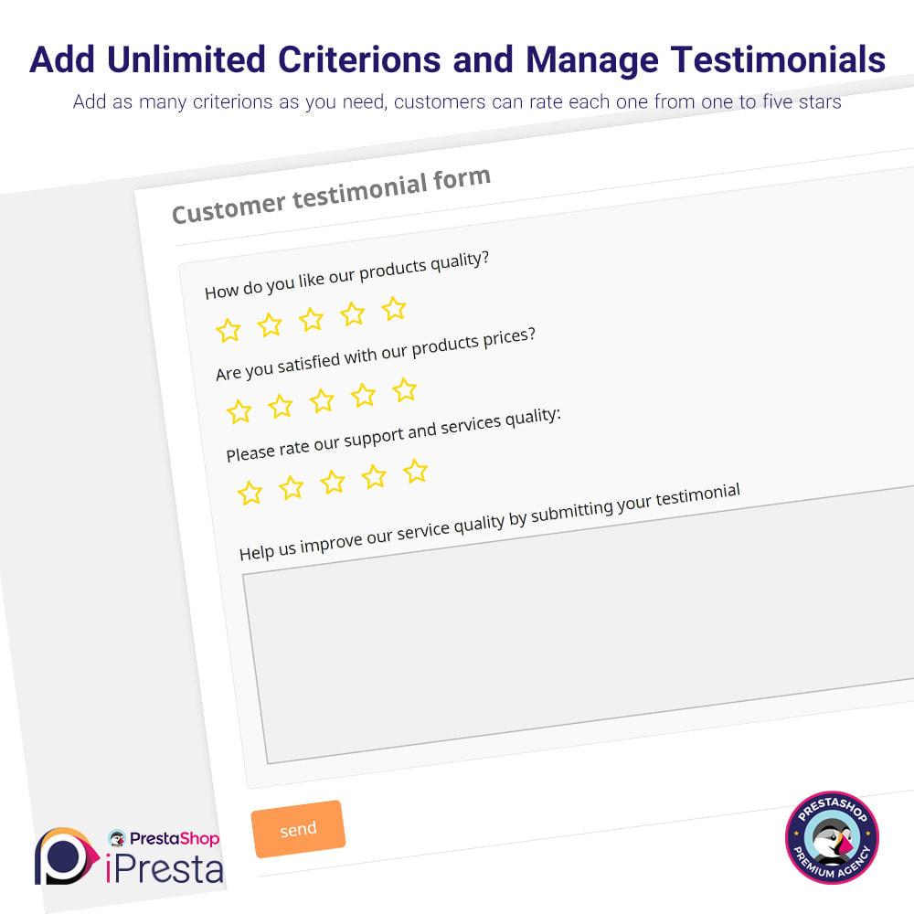 module - Customer Reviews - Testimonials + Google Richsnippets (Schema Markup) - 4