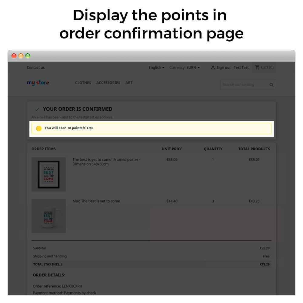 module - Empfehlungs- & Kundenbindungsprogramme - Treuepunkte – Punkte- und Prämienprogramm - 7