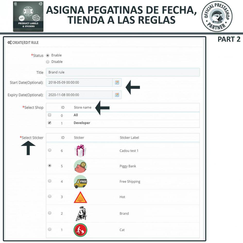 module - Etiquetas y Logos - Etiquetas y pegatinas del producto - 14