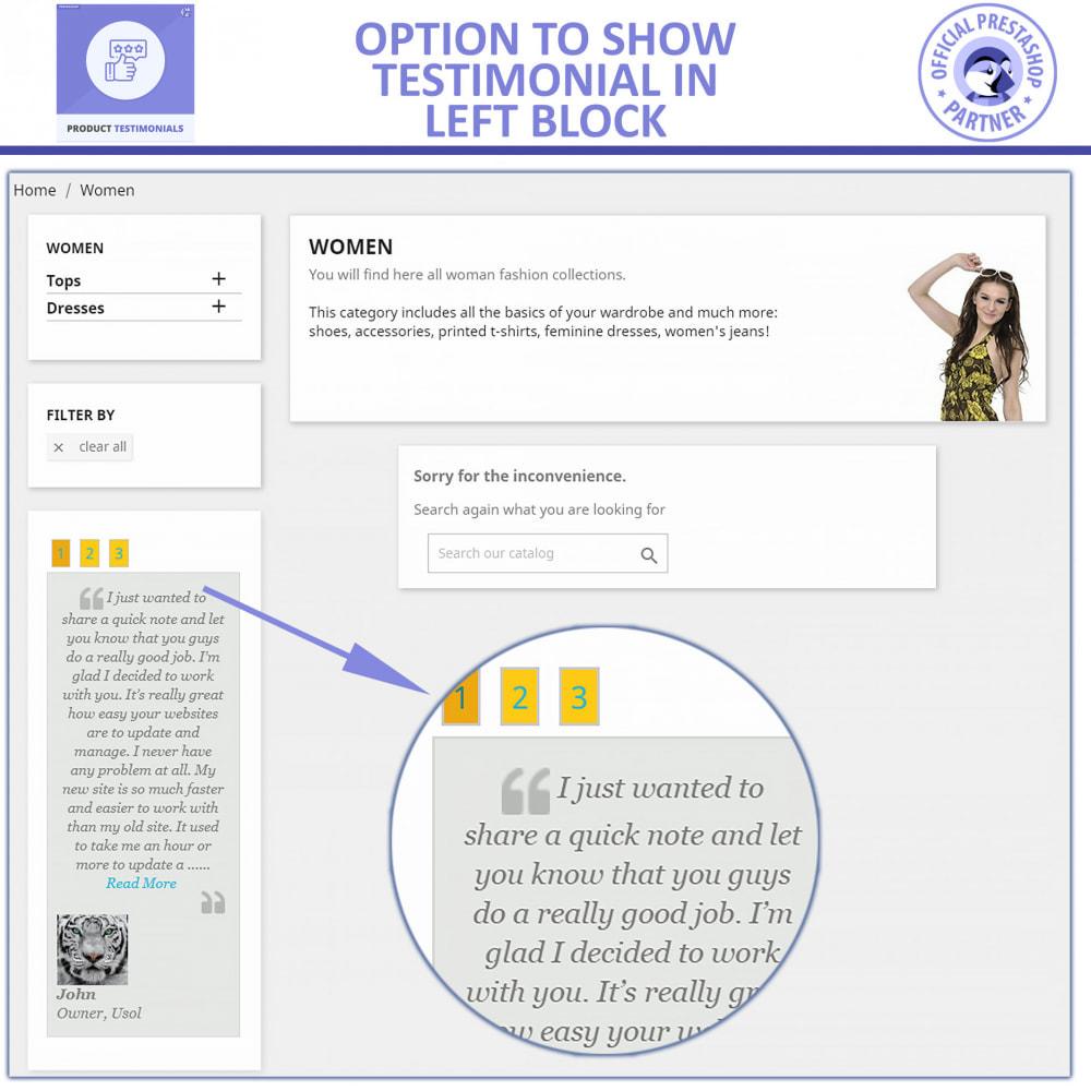 module - Customer Reviews - Customer Reviews + Store Testimonials Module - 3
