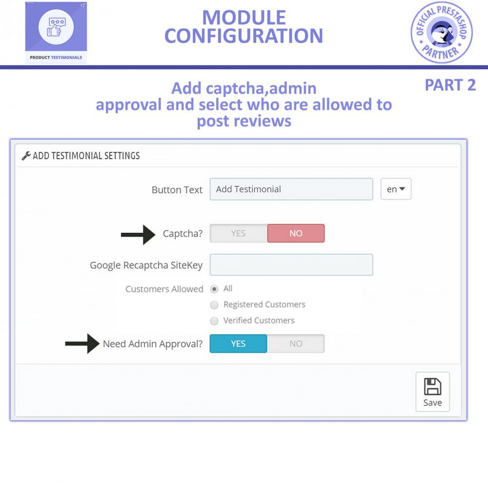 module - Customer Reviews - Customer Reviews + Store Testimonials Module - 9