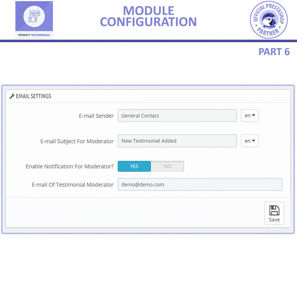 module - Customer Reviews - Customer Reviews + Store Testimonials Module - 13
