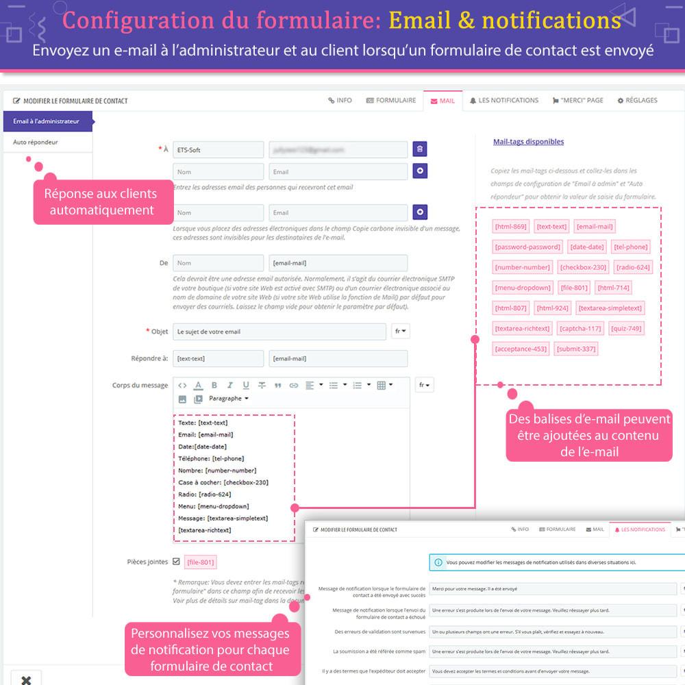 module - Formulaires de Contact & Sondages - Contact Form Ultimate – Générateur de formulaires - 9