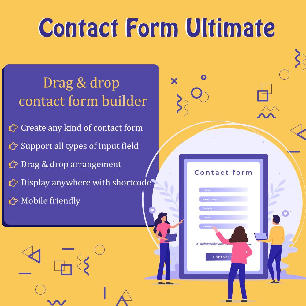 module - Formulário de contato & Pesquisas - Contact Form Ultimate - 1