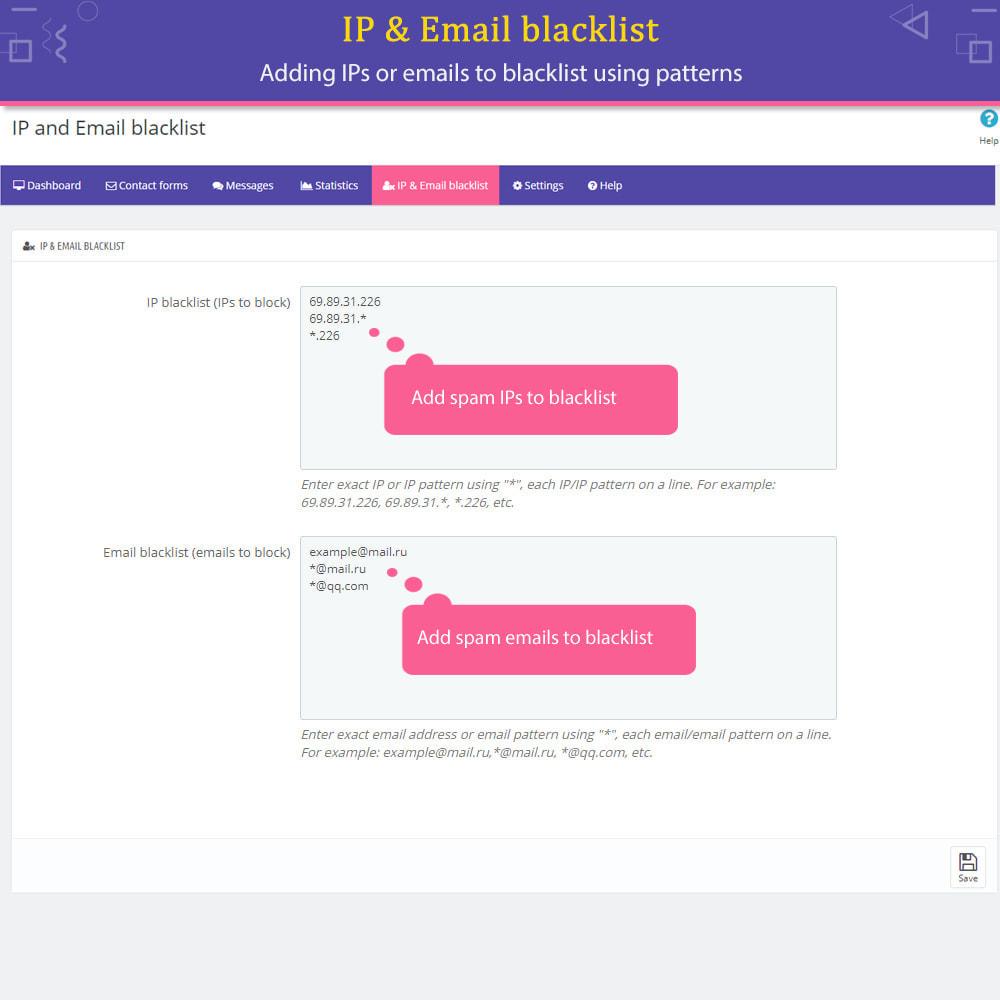 module - Formulário de contato & Pesquisas - Contact Form Ultimate - 13
