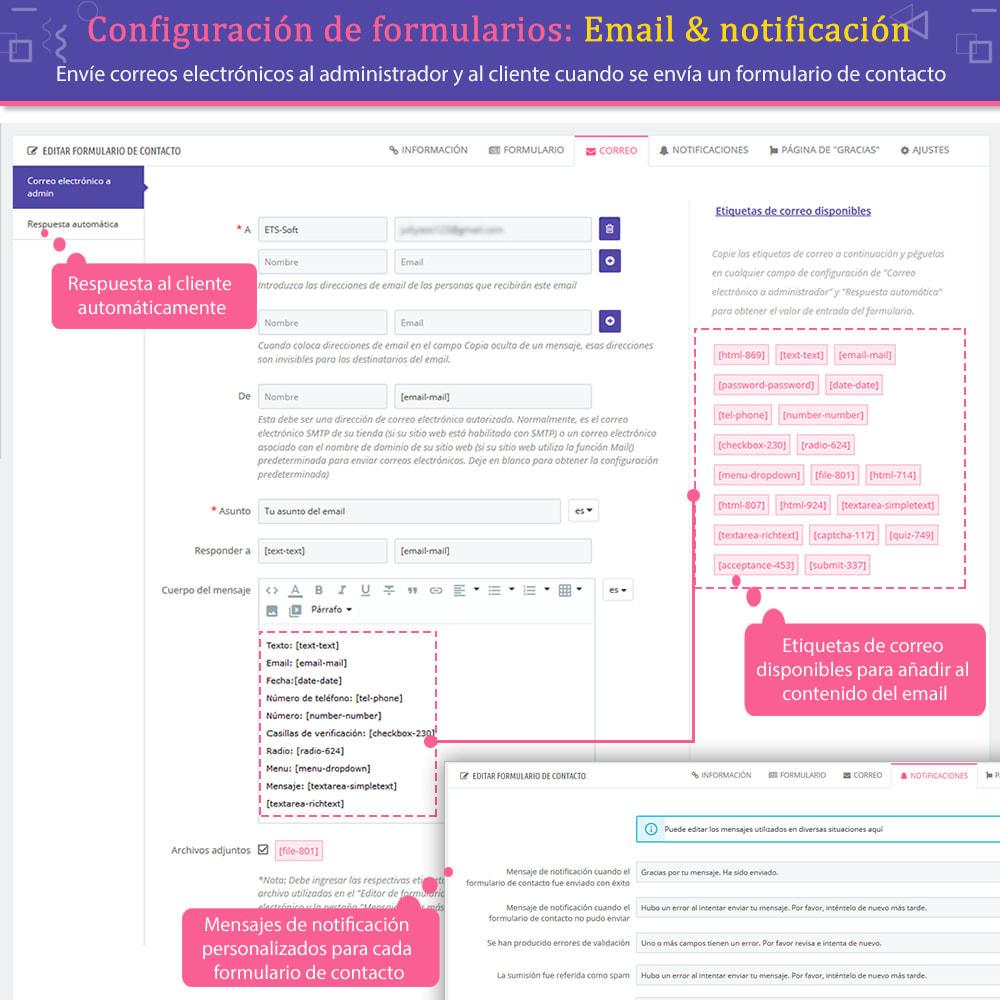 module - Formulario de contacto y Sondeos - Contact Form Ultimate: Arrastra y suelta formularios - 9