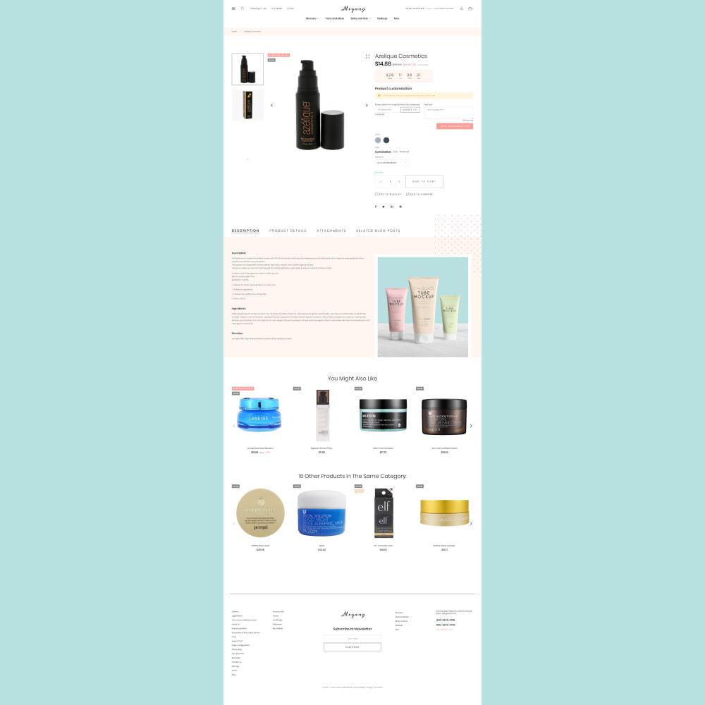 theme - Salute & Bellezza - Meyang - Korean Cosmetics Shop - 6