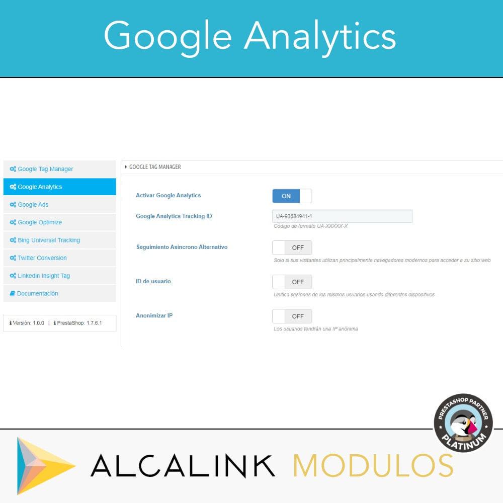 module - Informes y Estadísticas - Google Tag Manager + Complementos. Actividad usuarios. - 4