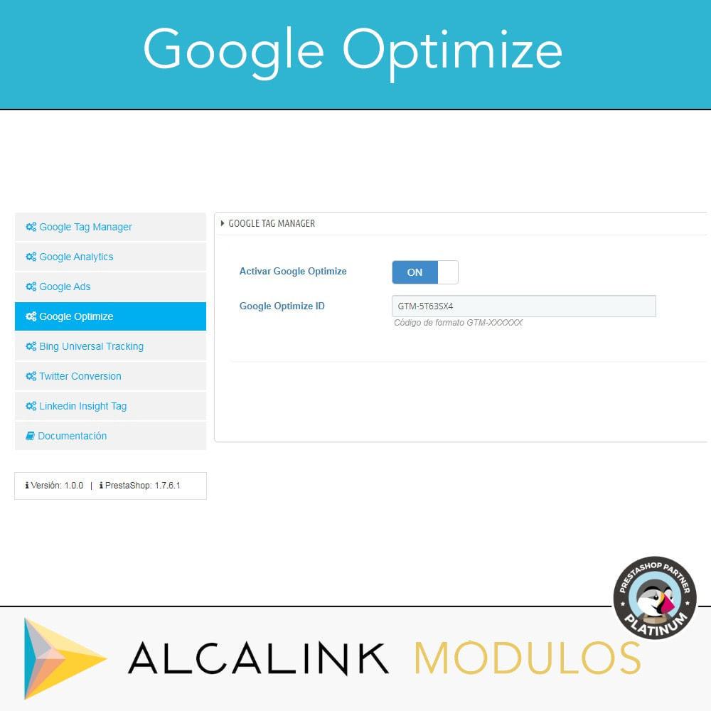 module - Informes y Estadísticas - Google Tag Manager + Complementos. Actividad usuarios. - 6