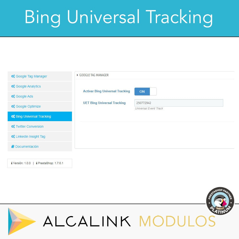 module - Informes y Estadísticas - Google Tag Manager + Complementos. Actividad usuarios. - 7