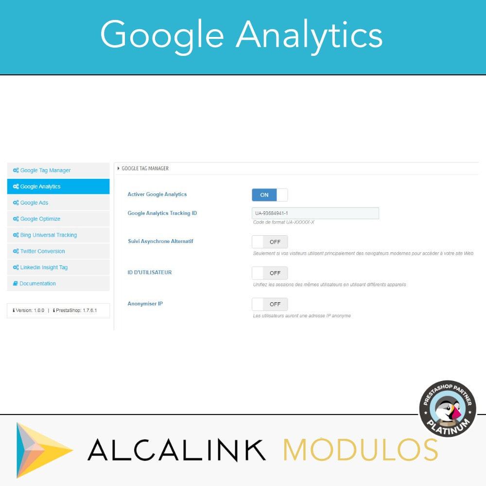 module - Analyses & Statistiques - Google Tag Manager + Add-ons. Activité de l'utilisateur - 4