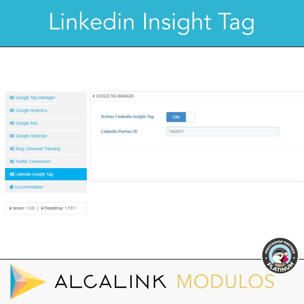 module - Analyses & Statistiques - Google Tag Manager + Add-ons. Activité de l'utilisateur - 9