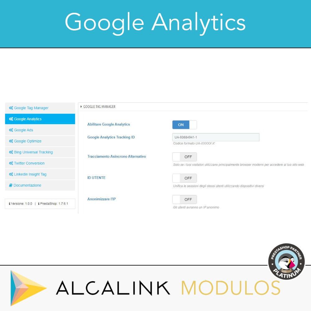 module - Analytics & Statistiche - Google Tag Manager + complementi. Attività dell'utente - 4