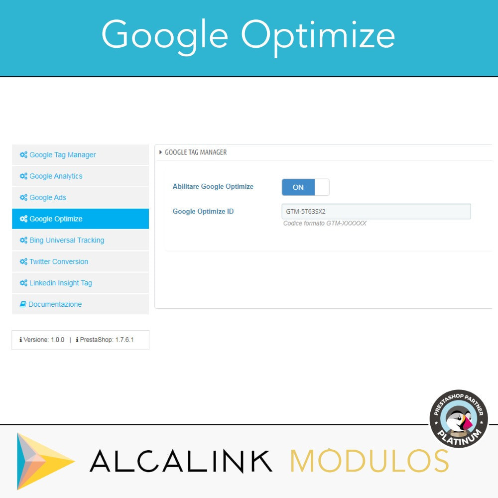 module - Analytics & Statistiche - Google Tag Manager + complementi. Attività dell'utente - 6