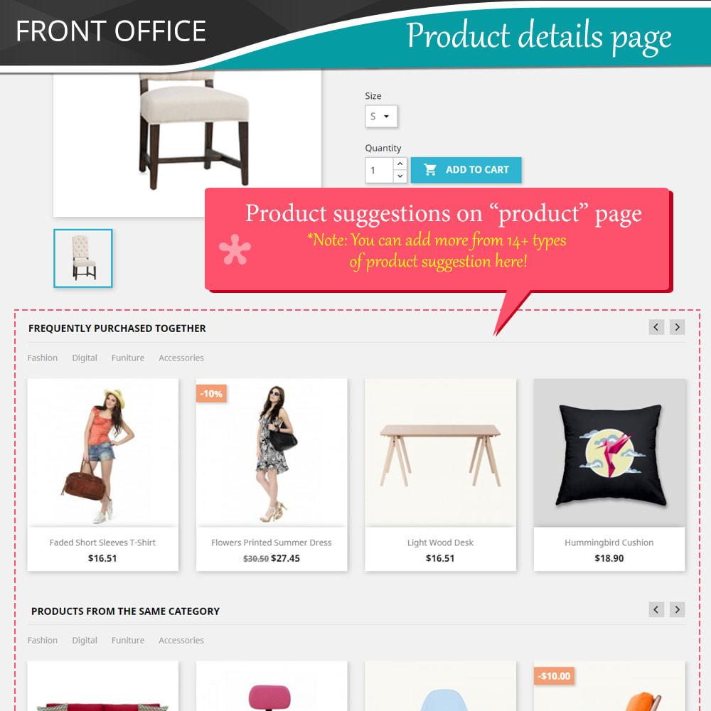 module - Kruisverkoop & Pakketaanbiedingen - Cross Selling Pro - Upsell - Shopping cart & all pages - 6