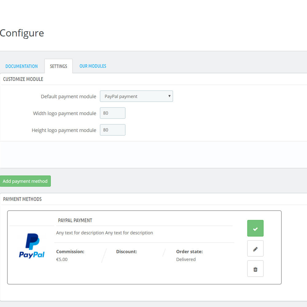 module - Formas de Pagamento Alternativas - Custom payment method - 8