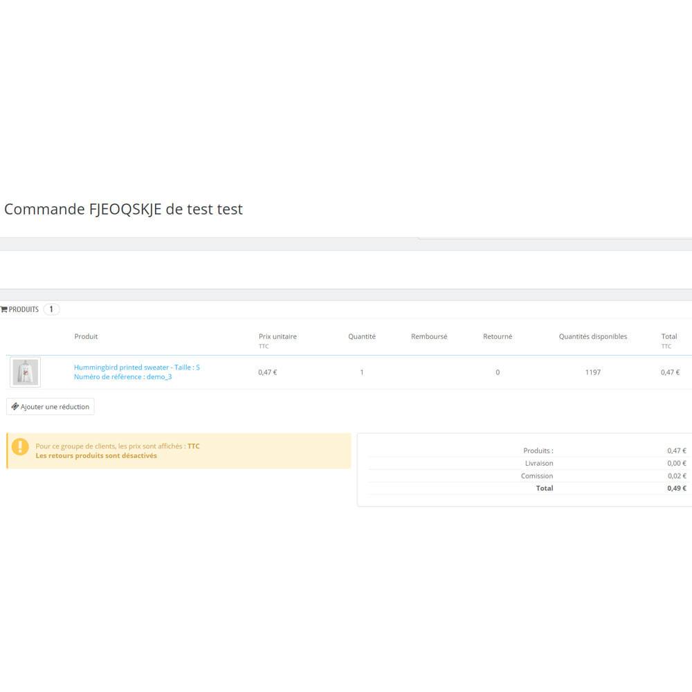 module - Autres moyens de paiement - Coutume mode de paiement - 10