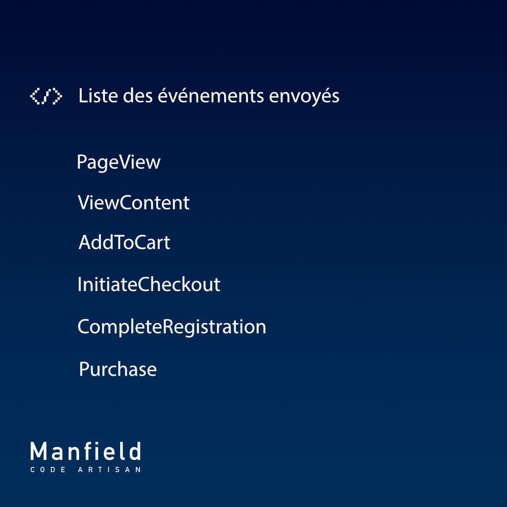 module - Produits sur Facebook & réseaux sociaux - Facebook Pixel + Track E-commerce + Catalogo e Cron - 8