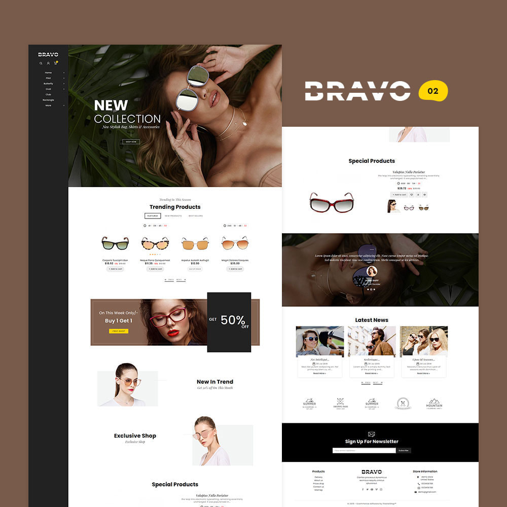 theme - Mode & Schoenen - BRAVO - Multi Purpose Boutique Shop - 3