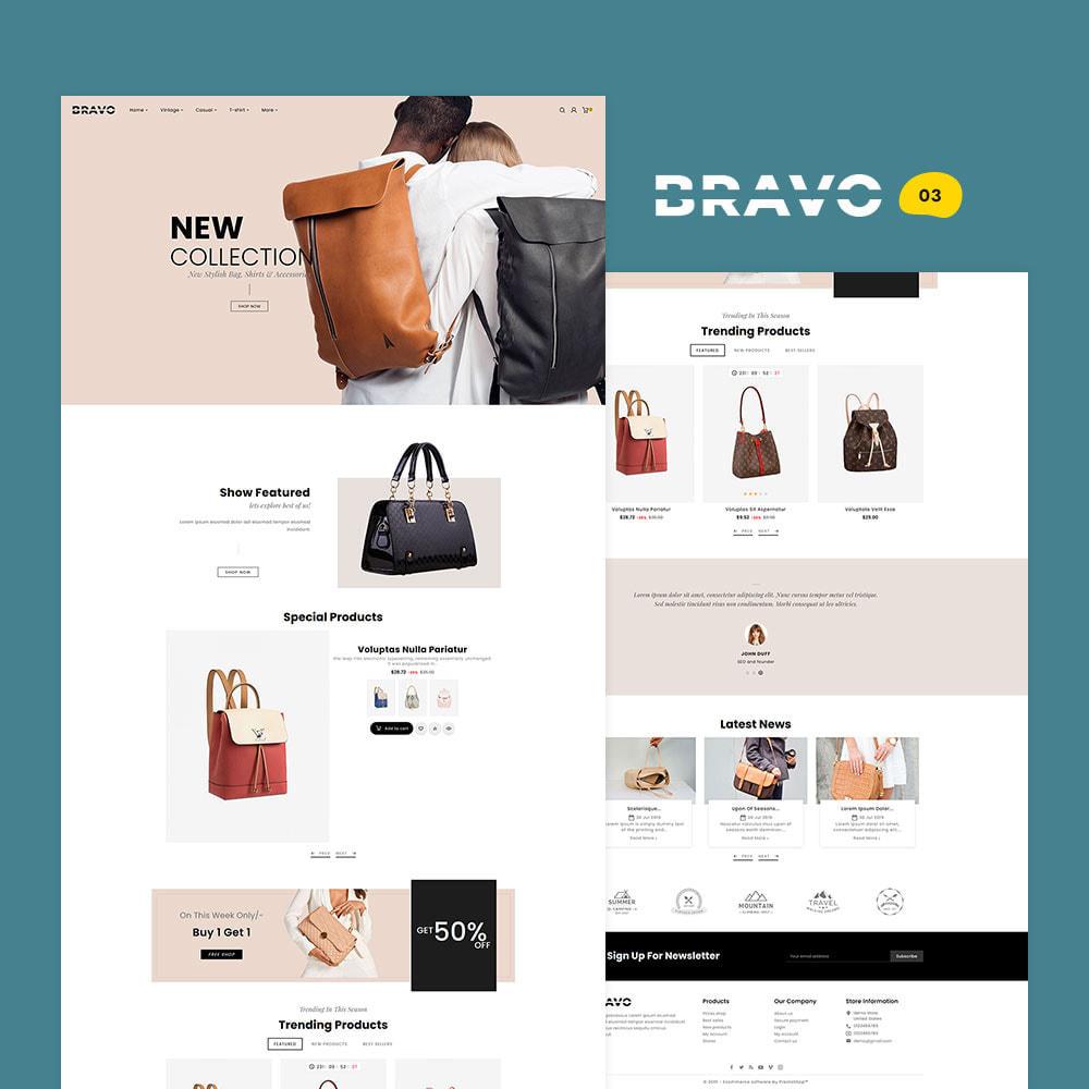 theme - Mode & Schoenen - BRAVO - Multi Purpose Boutique Shop - 4