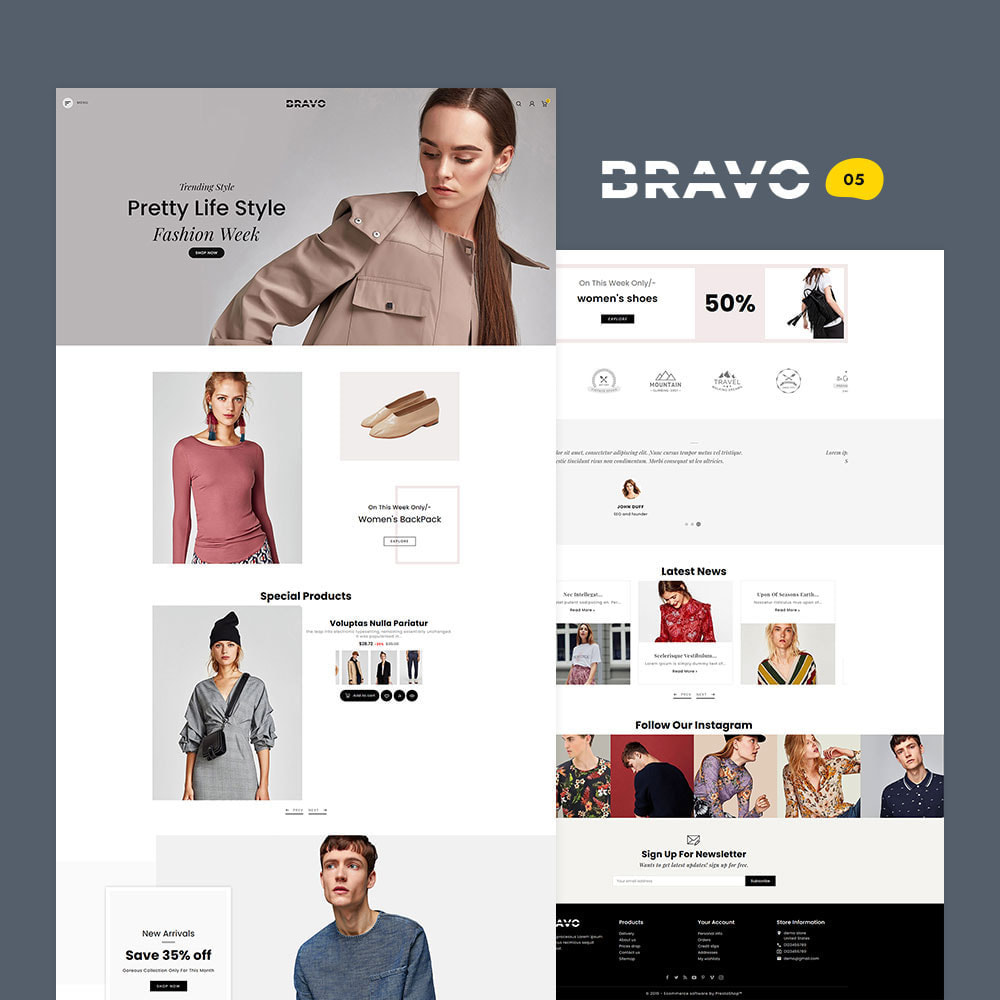 theme - Mode & Schoenen - BRAVO - Multi Purpose Boutique Shop - 6