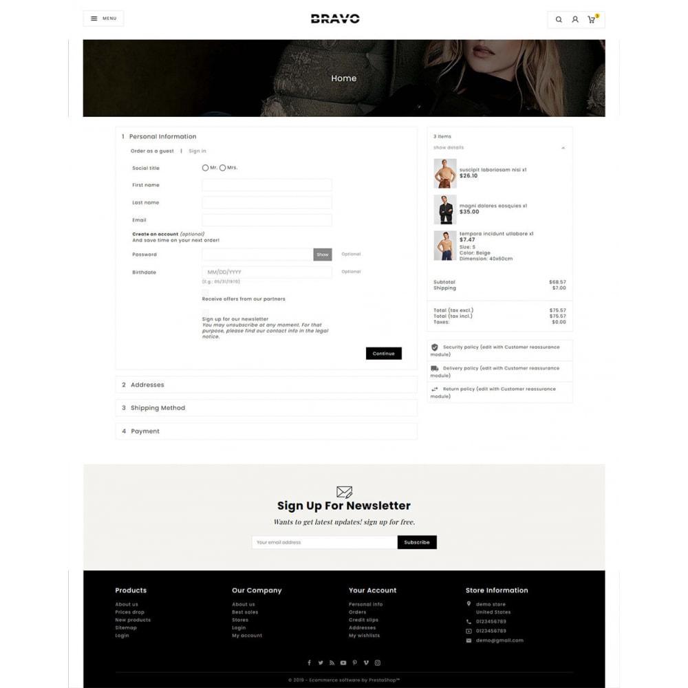 theme - Mode & Schoenen - BRAVO - Multi Purpose Boutique Shop - 19