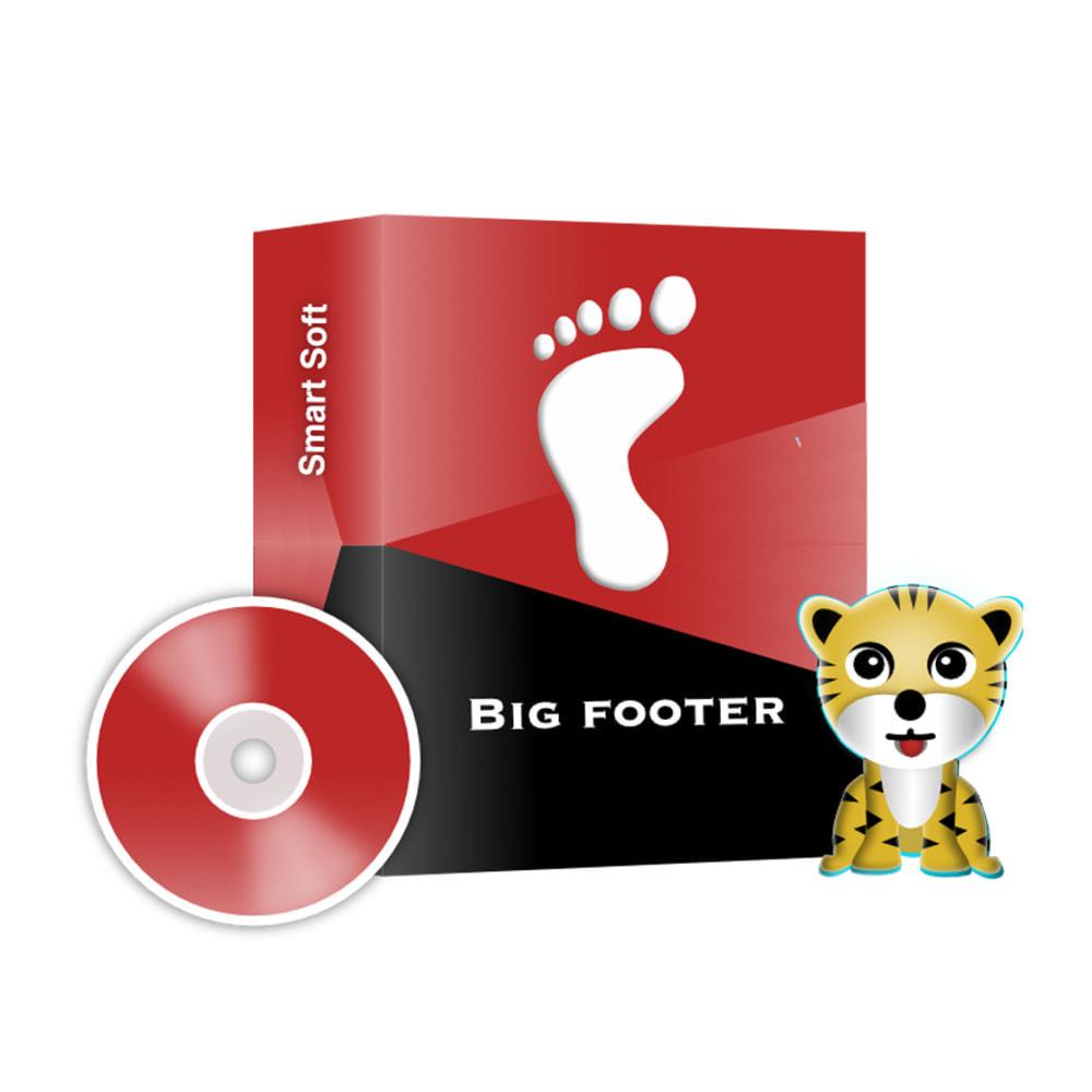 module - Individuelle Seitengestaltung - Big Footer - 1