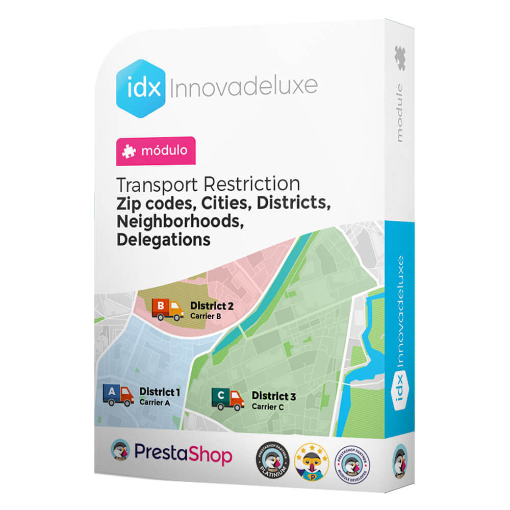 module - Vervoerder - Restricting Carriers by Zip Code, District, or City - 1