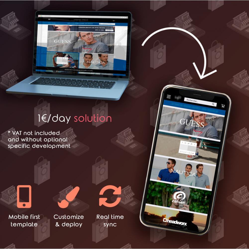 module - Mobile - PrestApp - Mobile Website Theme & Push Notifications - 2